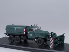 ZIL-157E D-470 Rotary Snow Removing green 1:43 Start Scale Models (SSM)