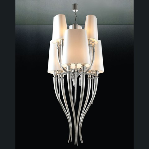 replica   Brunilde Chandelier 6 lamps (white)