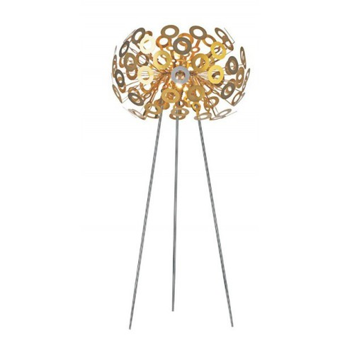 replica Dandelion floor lamp gold