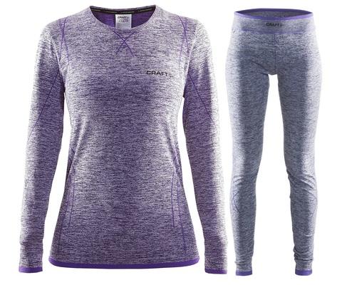 Комплект термобелья женский Craft Comfort (purple)