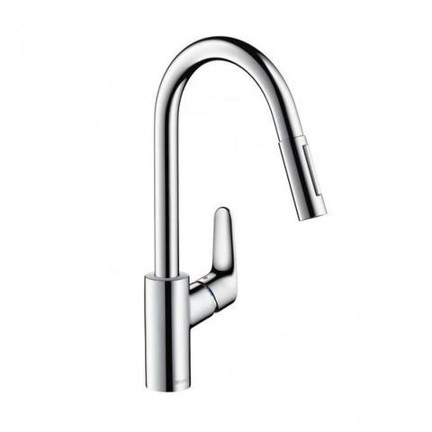 Смеситель для кухни с выдвижным душем Hansgrohe Focus 31815000