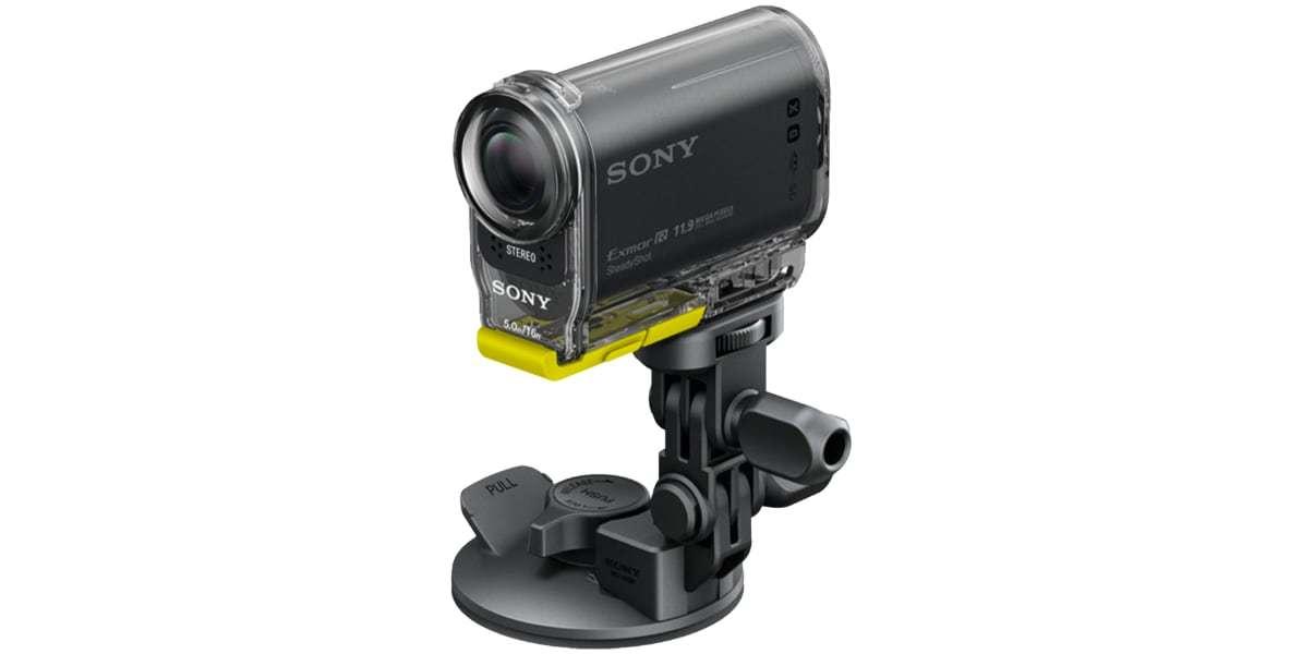 Крепление на присоске Sony VCT-SCM1 с камерой
