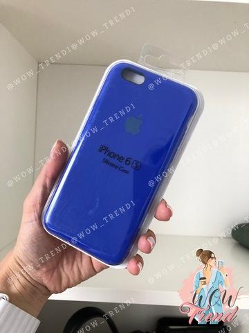 Чехол iPhone 6+/6s+ Silicone Case /ultramarine/ ультрамарин 1:1