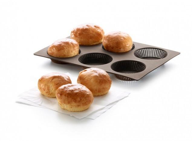 Форма для выпечки булочек, силикон (Lekue)