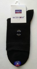 Носки мужские (12 пар ) цвет черный арт.989
