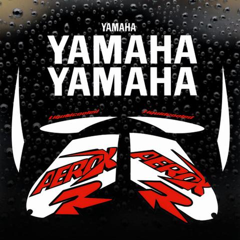 Набор виниловых наклеек на мотоцикл YAMAHA AEROX 2000 50cc