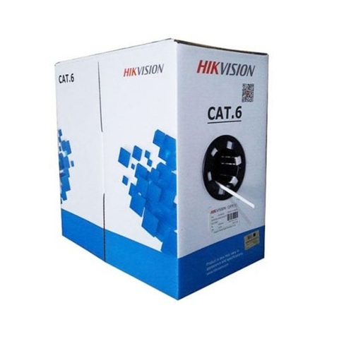 Hikvision UTP cat.6 4pair 4*2*0.53 (DS-1LN6-UE-W)