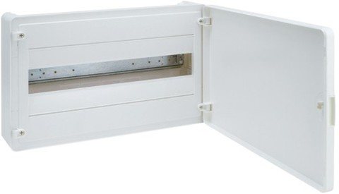 Щит открытой установки, 18М, с непрозрачной дверцей