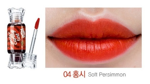 Тинт для губ THE SAEM Saemmul Water Candy Tint 10g #04 Soft Persimmon