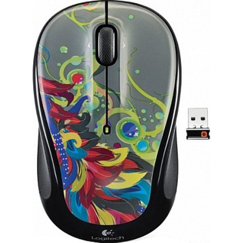 LOGITECH M325 Tropical Feathers
