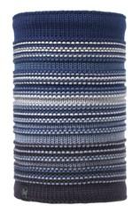 Вязаный шарф-труба с флисовой подкладкой Buff Neper Blue Ink