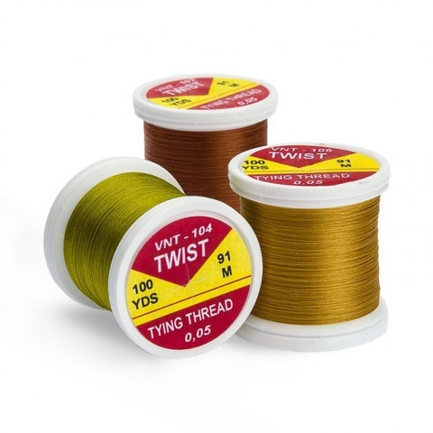 Монтажная нить HENDS Products TWIST Tying Thread (100 yds)