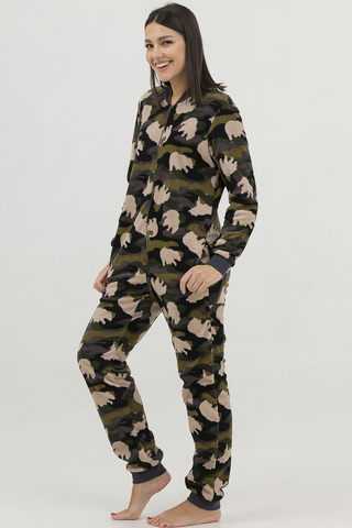 Пижама-комбинезон