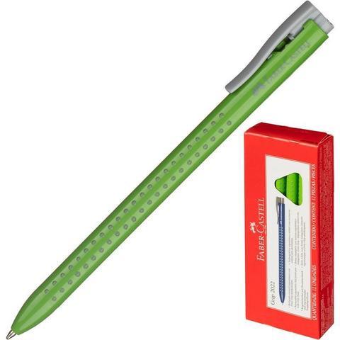 Ручка шариковая Faber-Castell GRIP 2022, салатовый, салат.корпус 544666