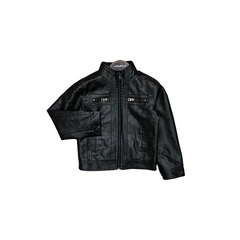 Куртка экокожа мальчику (5-12) 180918-012