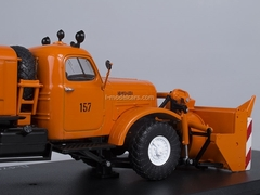 ZIL-157E D-470 Rotary Snow Removing orange 1:43 Start Scale Models (SSM)