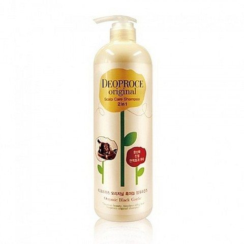 DEOPROCE Original Hair Root Care 2 in 1 Shampoo Black Bean 1000ml