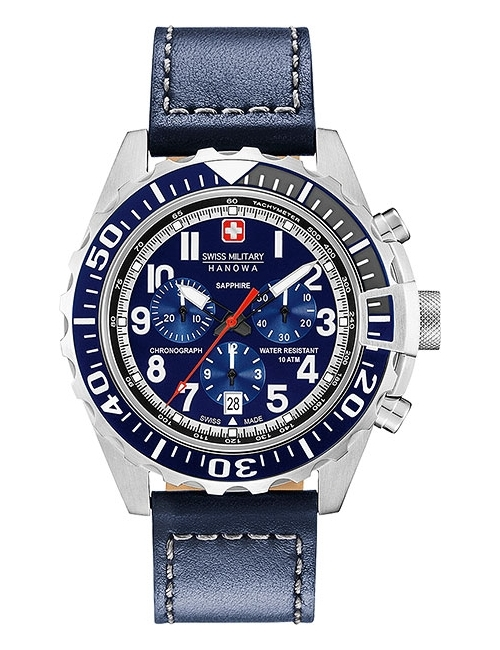 Часы мужские Swiss Military Hanowa 06-4304.04.003 Touchdown Chrono