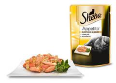 Sheba Appetito Ломтики в желе c курицей и индейкой 85 гр