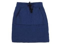 GSK15-006 юбка детская, т.синий меланж
