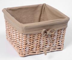 Плетеная корзина для ванной WasserKRAFT Kammel WB-180-S