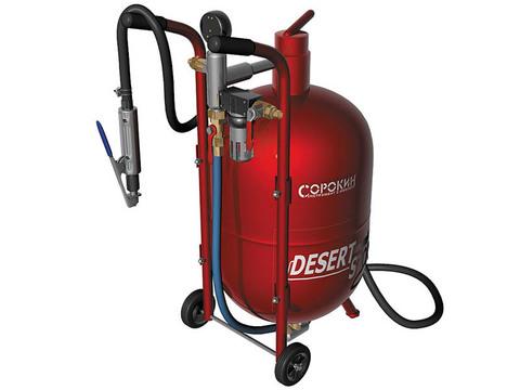 Пескоструйный аппарат СОРОКИН® 10.2 на 32 литра