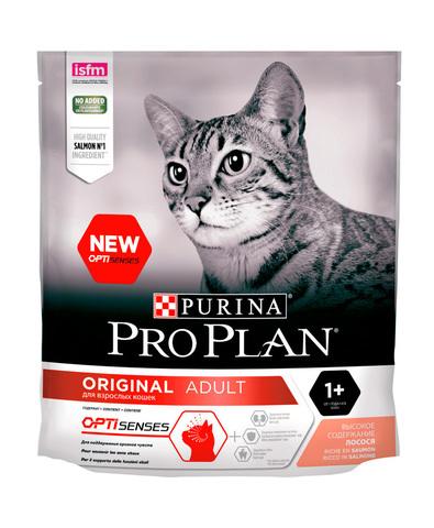Pro Plan Оригинал сухой корм для взрослых кошек (курица) 400 г
