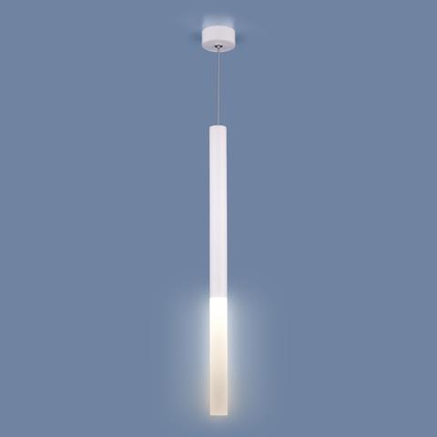 Подвесной светодиодный светильник DLR040 4W 4200K белый матовый