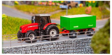 Faller 161536 Трактор с прицепом Ep.V H0