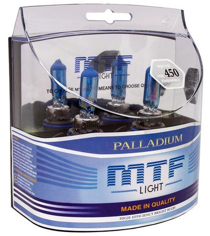Галогенные лампы MTF Light PALLADIUM HB4 (9006) 55W