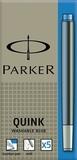 Картридж для перьевой ручки Parker Z11 неводостойкие чернила Blue