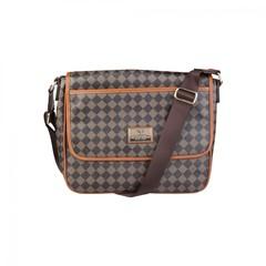 Мужская сумка мессенджер Versace V1969  GRD-YCA072-2_SQUARE-MARR-BEIGE