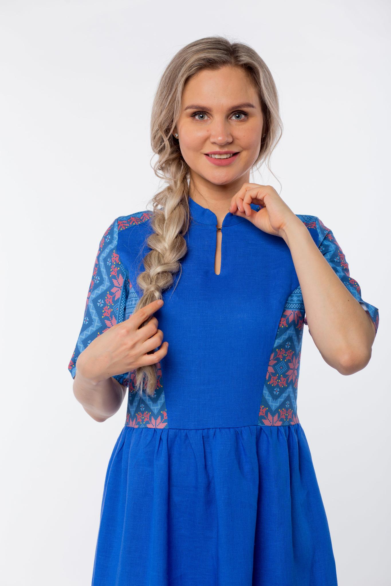 Платье Вольная вода макси приближенный фрагмент