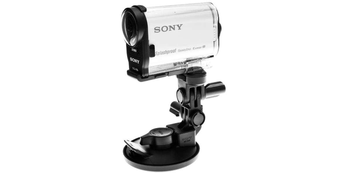 Крепление на присоске Sony VCT-SCM1 с камерой Sony