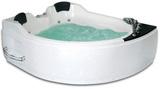 Гидромассажная ванна Gemy G9086 B L 170х133