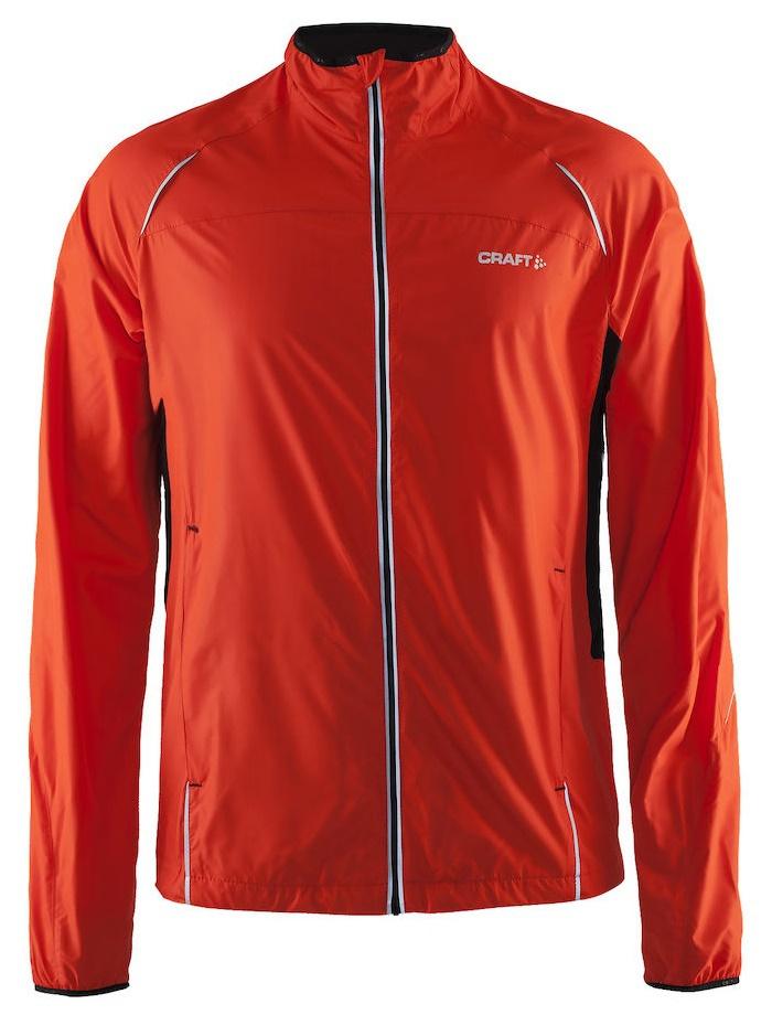 Мужская беговая куртка Craft Prime Run (1902210-2569) оранжевая