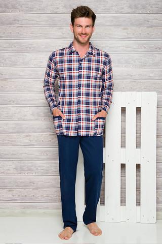 Мужская пижама 7W Gracjan 1008-1009 Dark Blue Taro