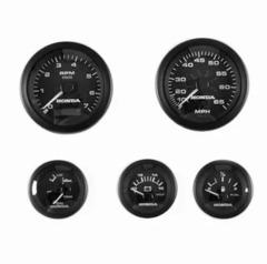 06365-ZW5-01AHE Комплект приборов 5 шт. черного цвета с проводкой