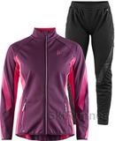 Элитный лыжный костюм Craft Sharp Softshell XC Purple женский