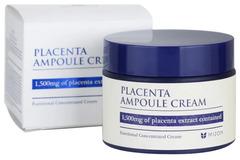 Mizon Placenta Ampoule Cream - Антивозрастной плацентарный крем для лица