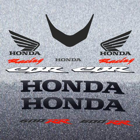 Набор виниловых наклеек на мотоцикл HONDA CBR 600RR 2008