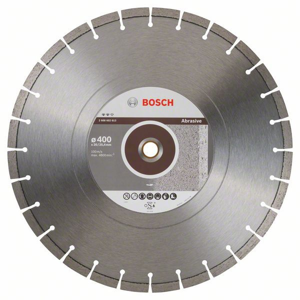 Алмазный диск Expert for Abrasive 400-20/25,4 Bosch 2608602613