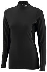 Термобелье Рубашка женская Mizuno Mid Weight High Neck Распродажа