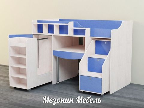 Кровать-чердак Леон