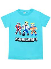 MK002F-14 футболка детская, голубая