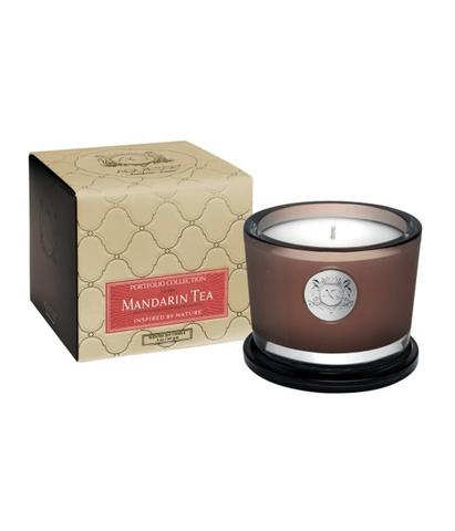 Ароматическая свеча малая Мандарин и чай, Aquiesse