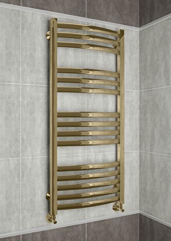Palermo Bronze  - бронзовый дизайн полотенцесушитель. Бронза.