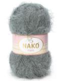 Пряжа Nako Paris 1690 серый