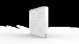 Выключатель пятиканальный Heltun (Белая панель, Белая рамка)