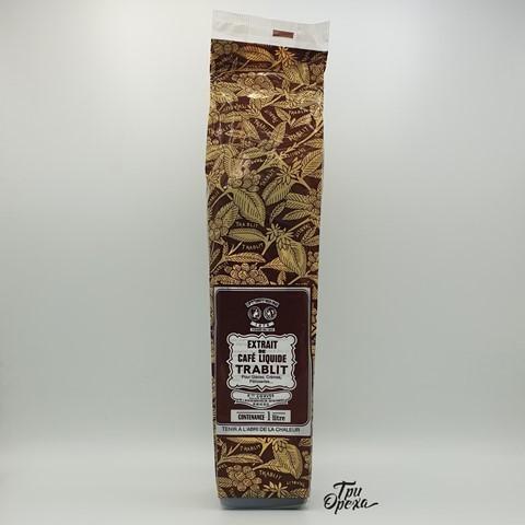 Кофейный экстракт жидкий TRABLIT, 1л